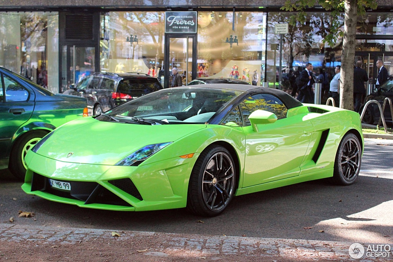 9 i lamborghini gallardo lp560 4 spyder 2013 9 - Lamborghini Gallardo Spyder Green
