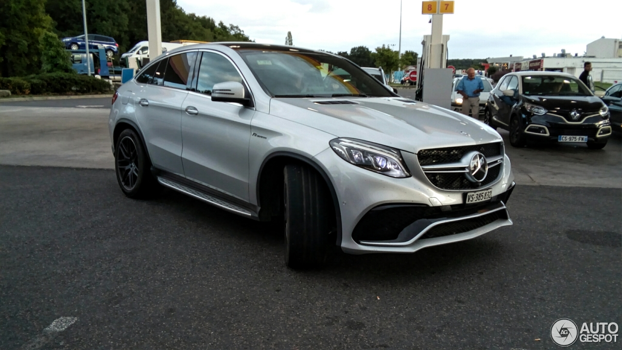Mercedes Amg Gle 63 S Coup 233 11 September 2015 Autogespot