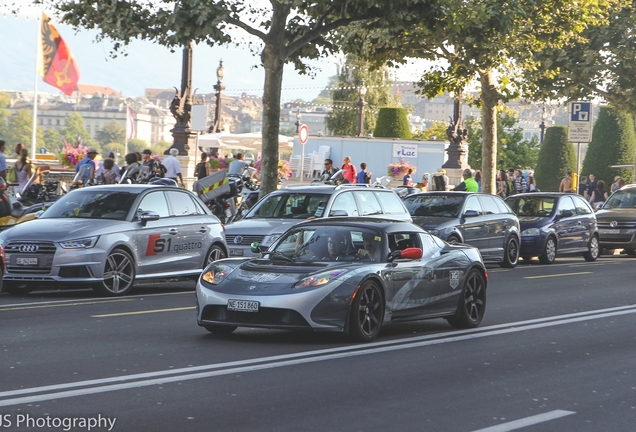 Tesla Motors Roadster Sport Tag Heuer