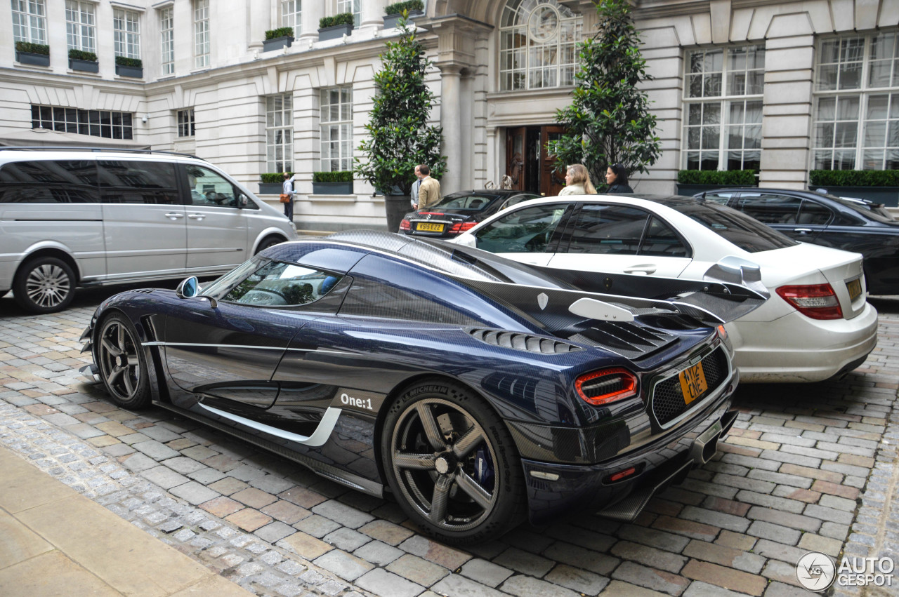 koenigsegg one 1 13 september 2015 autogespot. Black Bedroom Furniture Sets. Home Design Ideas