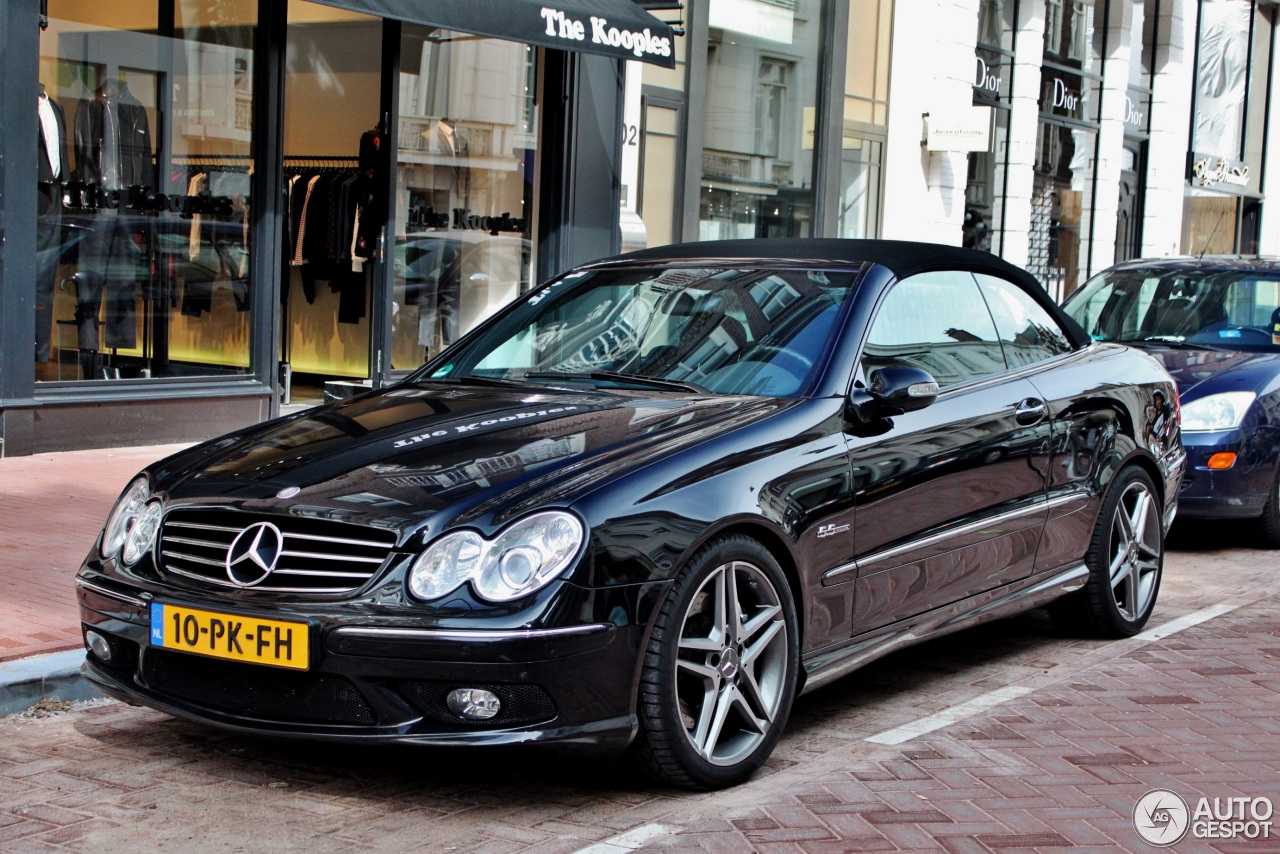 mercedes benz clk 55 amg cabriolet 13 september 2015 autogespot. Black Bedroom Furniture Sets. Home Design Ideas