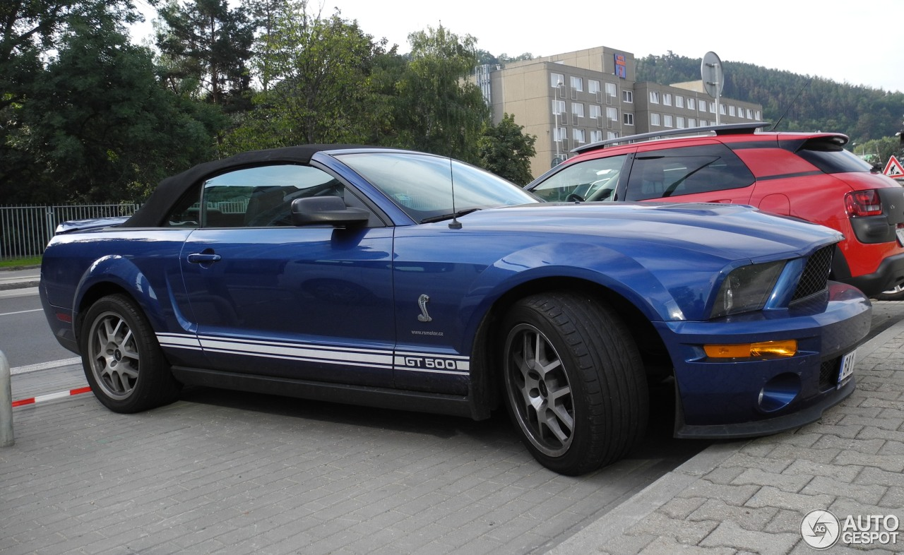 ford mustang shelby gt500 convertible 14 september 2015 autogespot. Black Bedroom Furniture Sets. Home Design Ideas