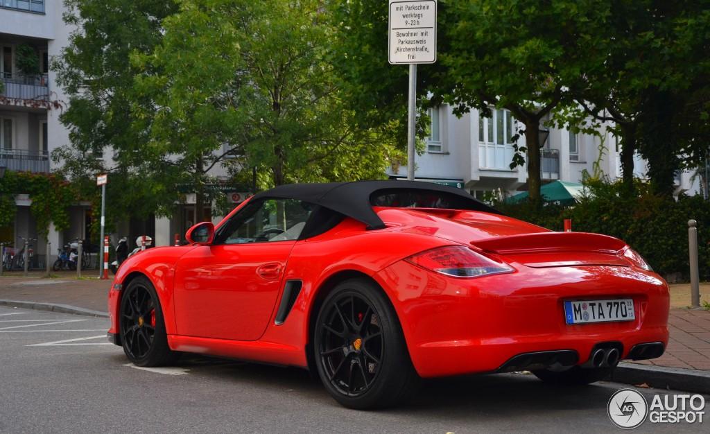 Porsche Boxster Spyder 14 Septembre 2015 Autogespot