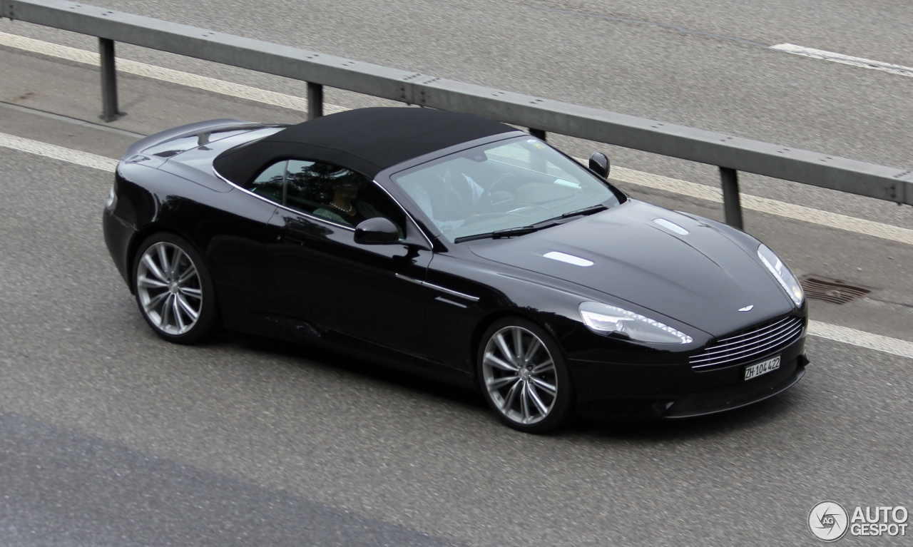 The gallery for --> Aston Martin Db9 Convertible Blue