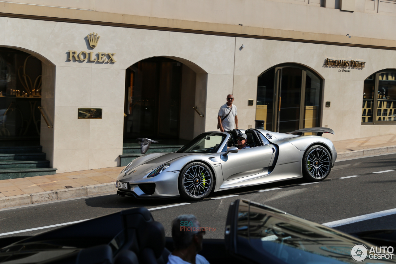 porsche 918 spyder 17 september 2015 autogespot. Black Bedroom Furniture Sets. Home Design Ideas