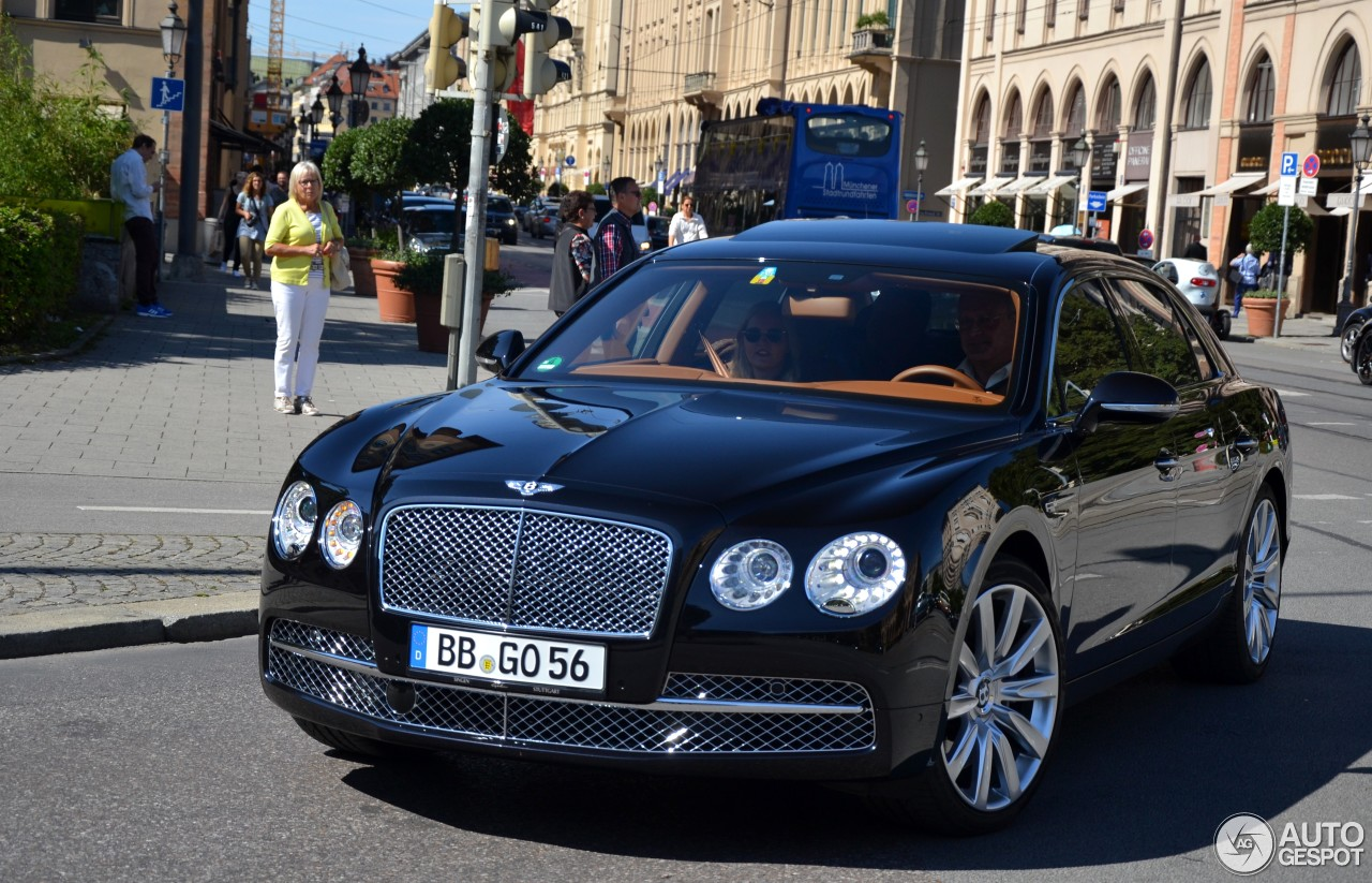 bentley flying spur w12 18 september 2015 autogespot. Black Bedroom Furniture Sets. Home Design Ideas