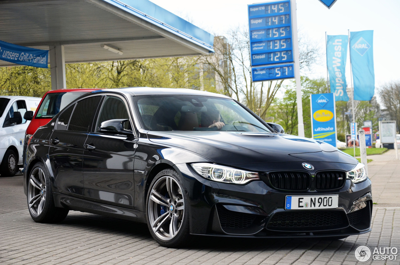 Bmw M3 F80 Sedan 2014 18 September 2015 Autogespot