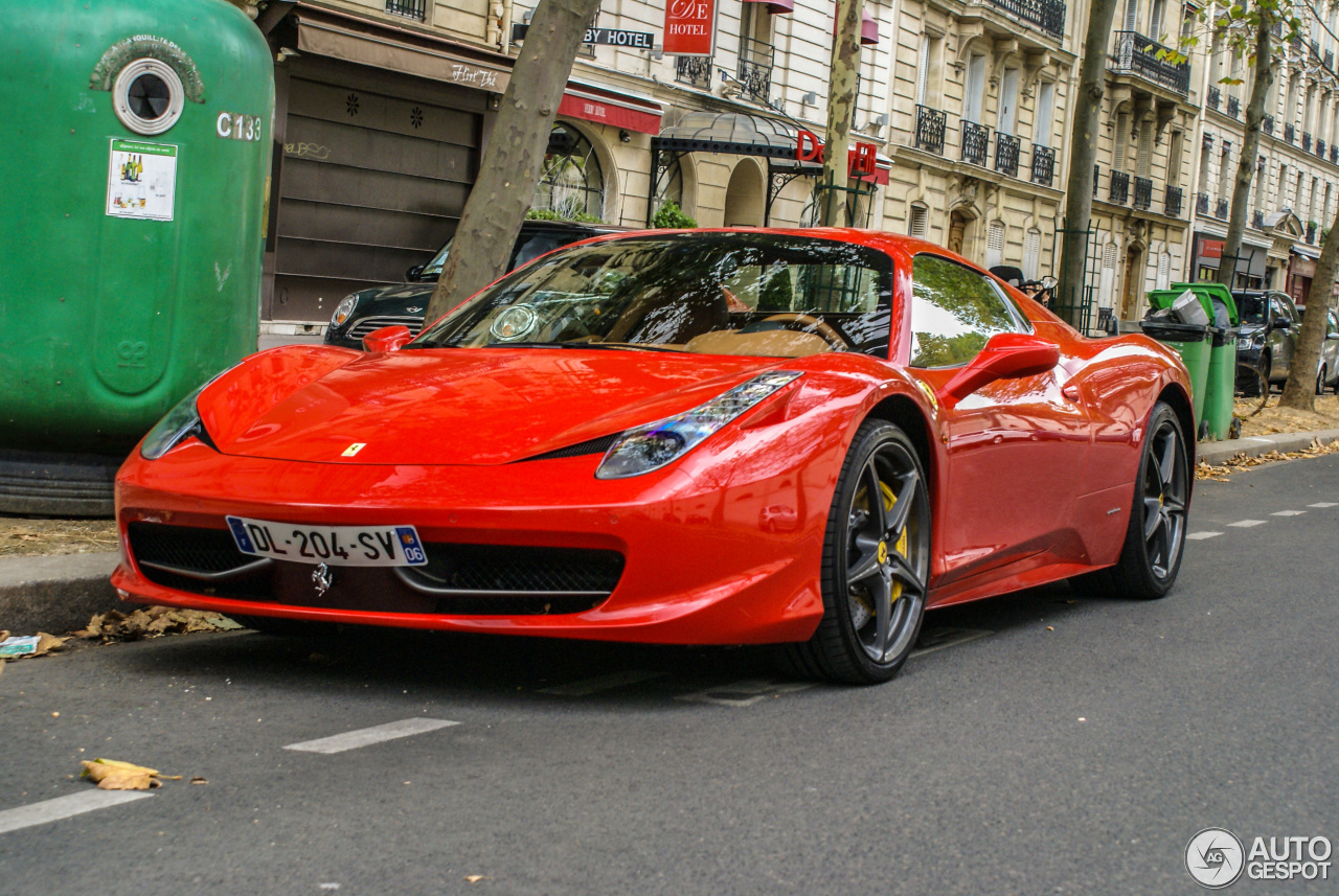 ferrari 458 spider 20 september 2015 autogespot. Black Bedroom Furniture Sets. Home Design Ideas