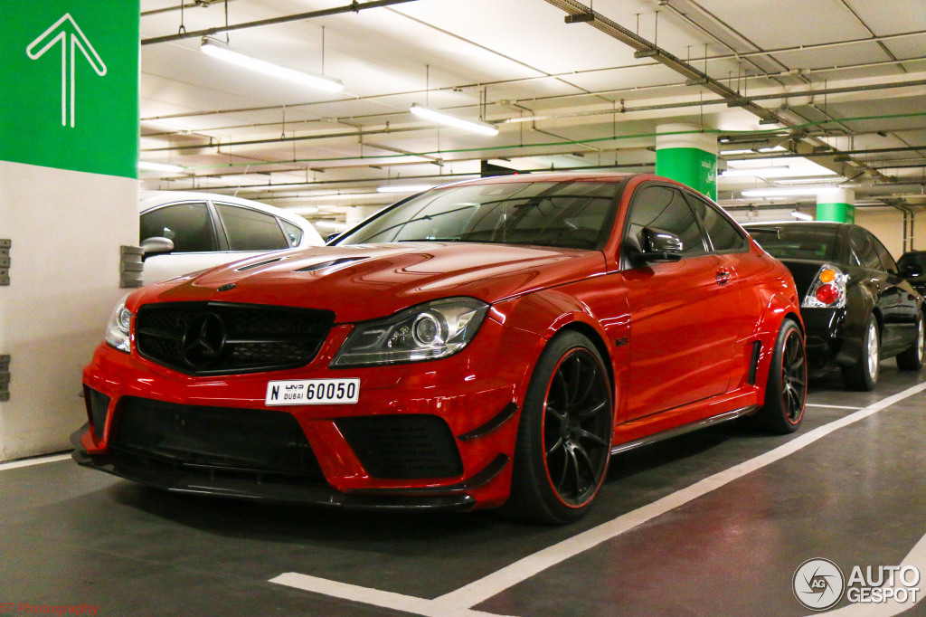 Mercedes Benz C 63 Amg Coup 233 Black Series By Pp