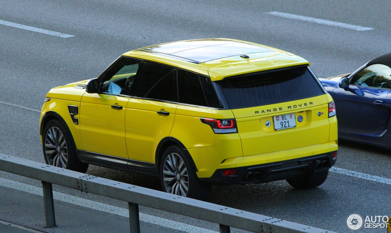 land rover range rover sport svr 21 september 2015 autogespot. Black Bedroom Furniture Sets. Home Design Ideas
