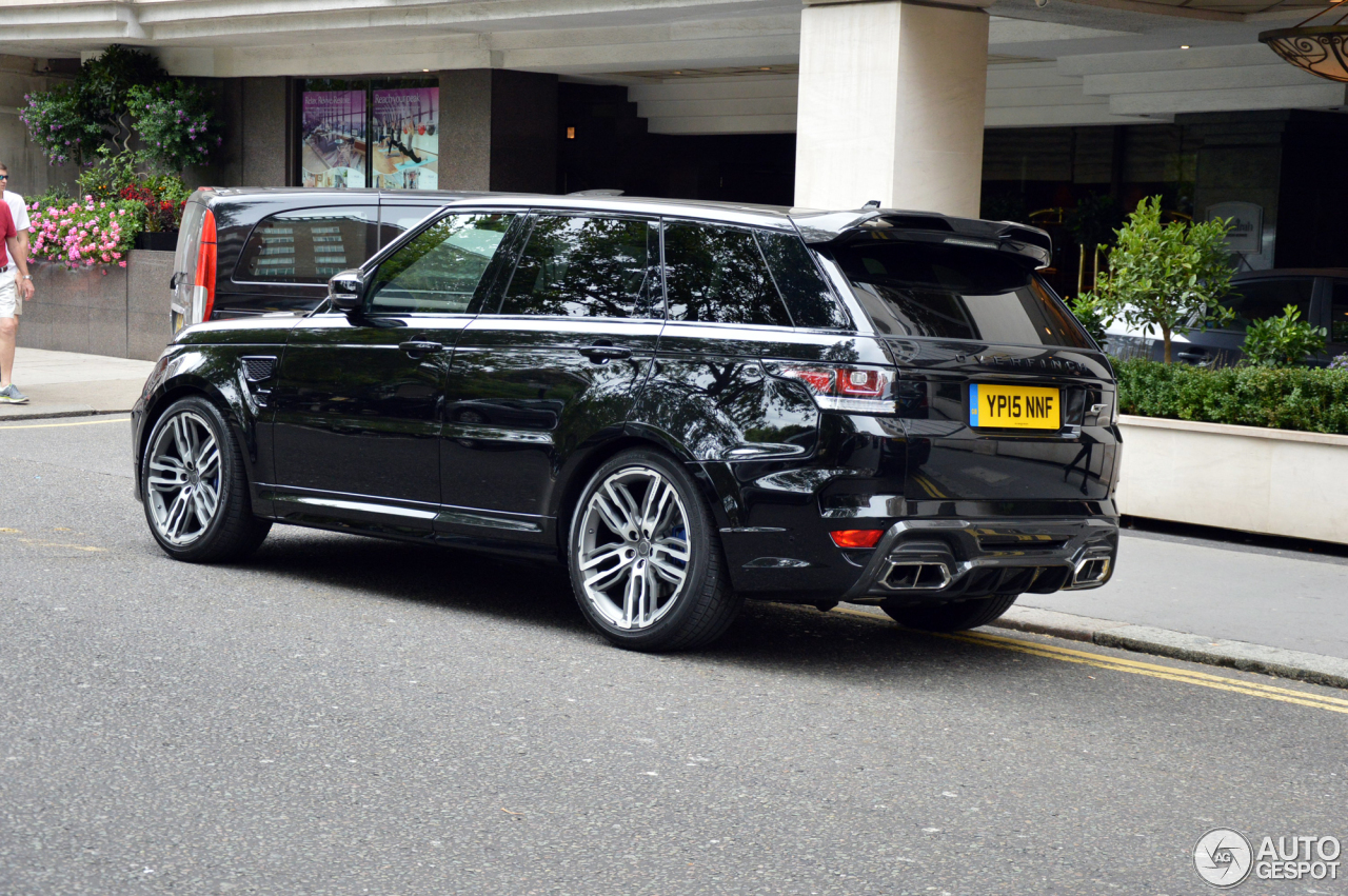 land rover range rover overfinch gt svr 23 september 2015 autogespot. Black Bedroom Furniture Sets. Home Design Ideas
