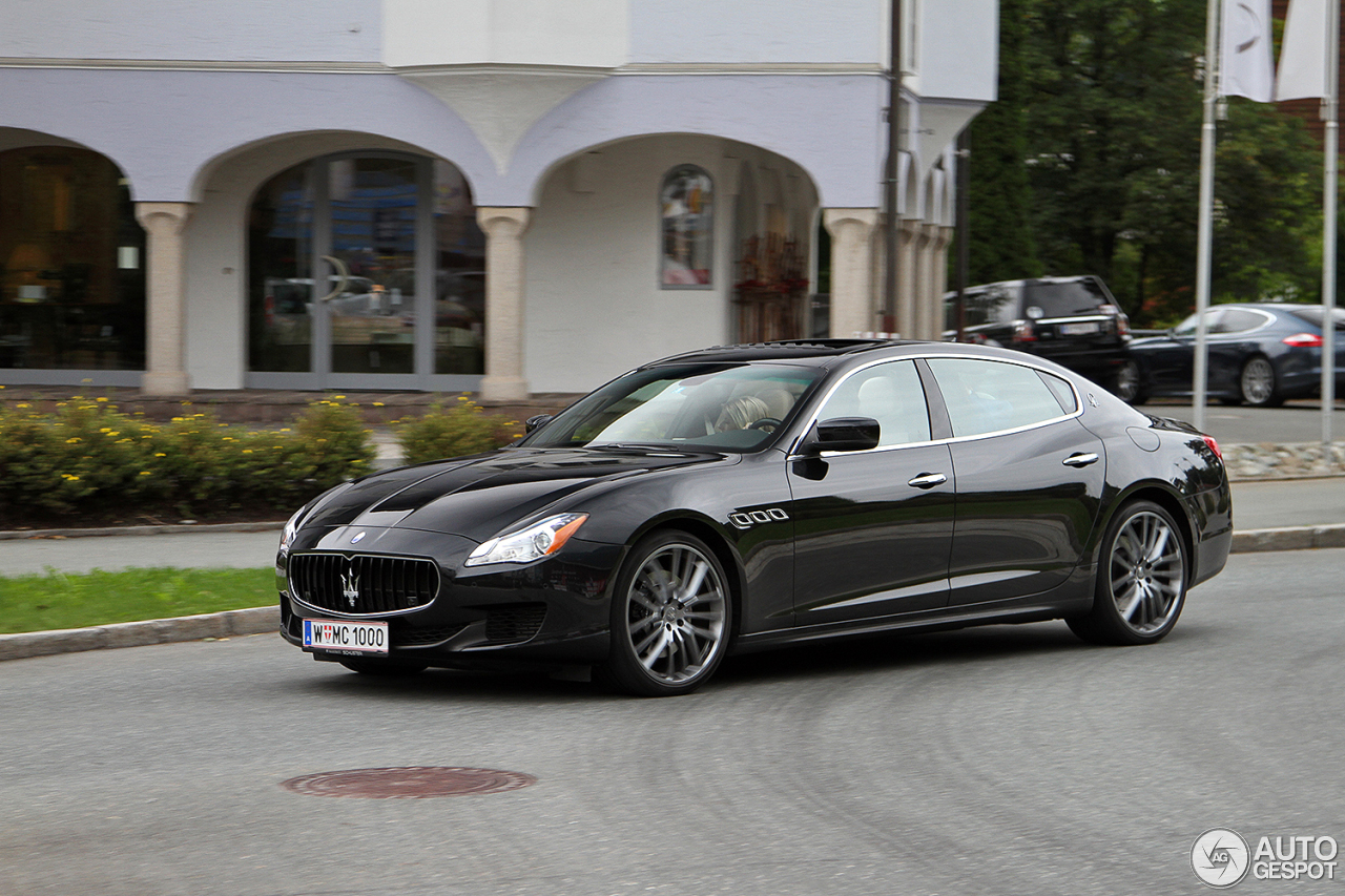 maserati quattroporte s q4 2013 26 september 2015. Black Bedroom Furniture Sets. Home Design Ideas