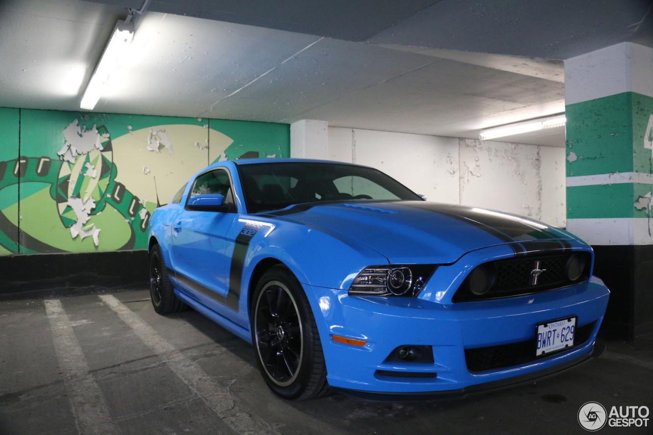Ford Mustang Boss 302 2013 27 September 2015 Autogespot