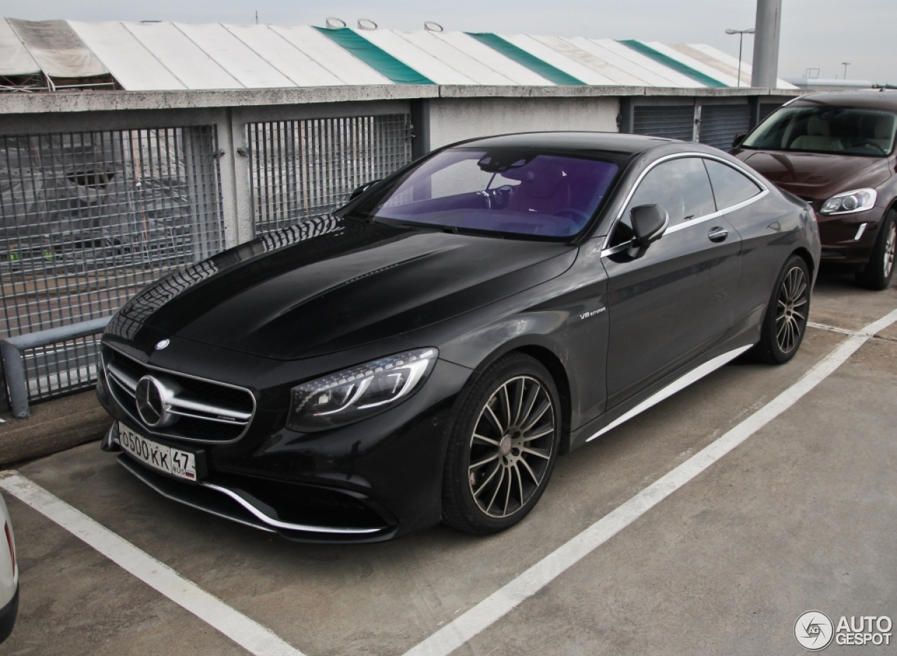 mercedes benz s 63 amg coup c217 27 septembre 2015 autogespot. Black Bedroom Furniture Sets. Home Design Ideas