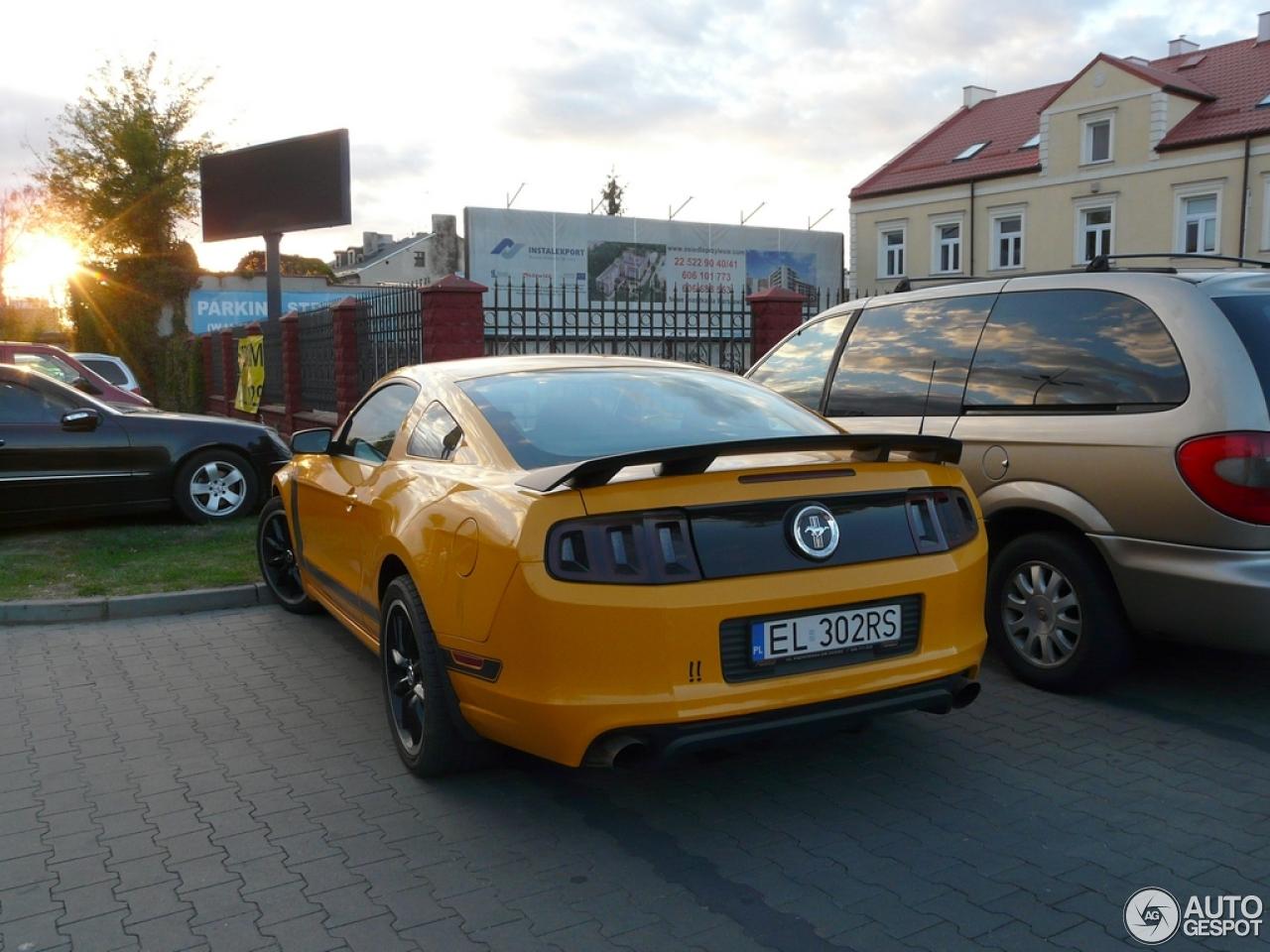 Ford Mustang Boss 302 2013 28 September 2015 Autogespot
