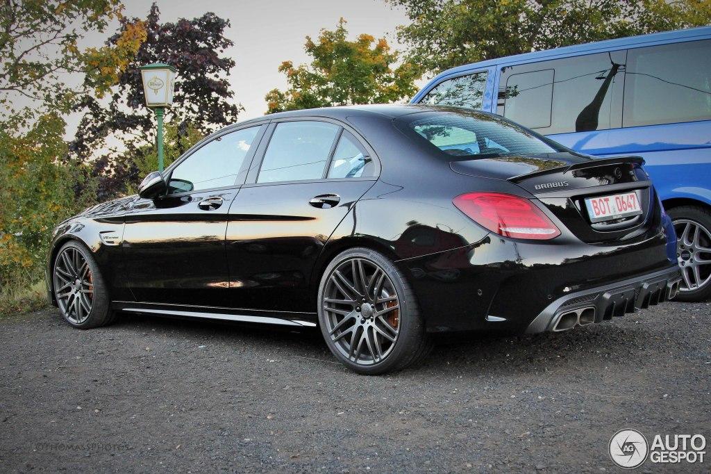 Mercedes amg brabus c b40 600 3 october 2015 autogespot for Mercedes benz c 600