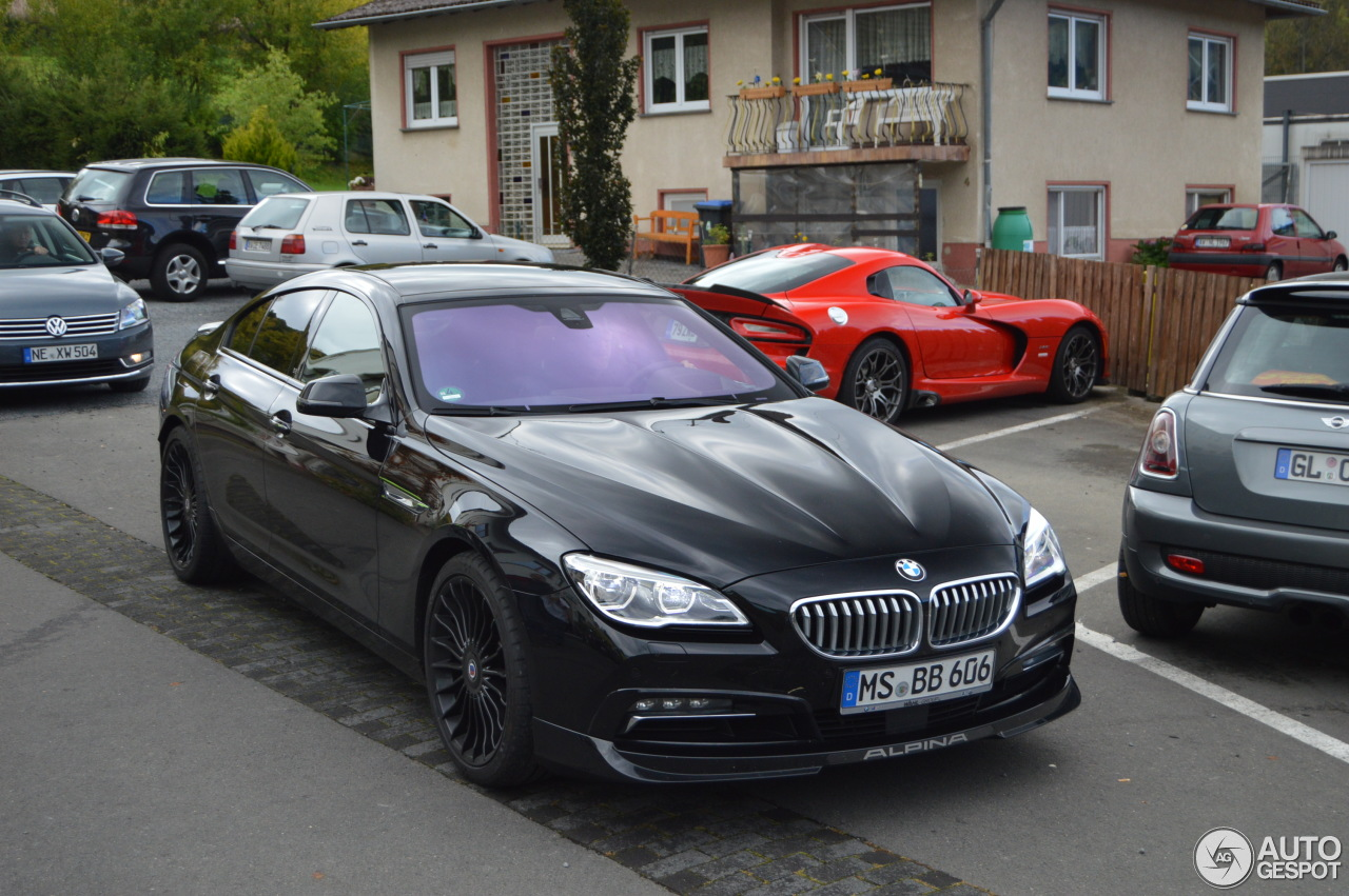 1 I Alpina B6 BiTurbo Gran Coupe 2015