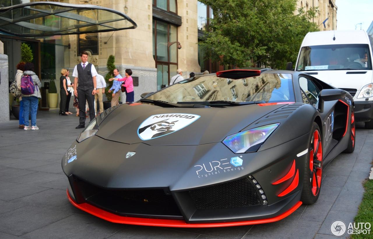 Lamborghini Aventador LP700 4 Nimrod Avanti Rosso
