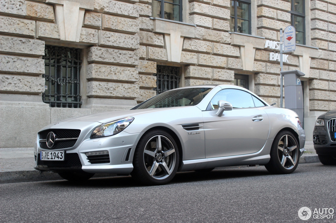 mercedes benz slk 55 amg r172 4 october 2015 autogespot. Black Bedroom Furniture Sets. Home Design Ideas
