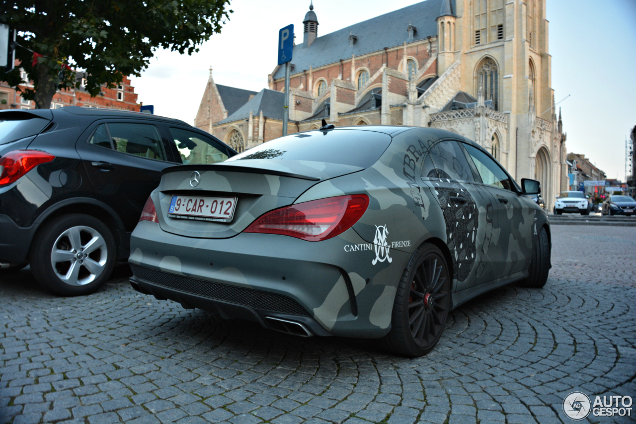 Mercedes-Benz CLA 45 AMG Edition 1 C117 - 5 October 2015 ...