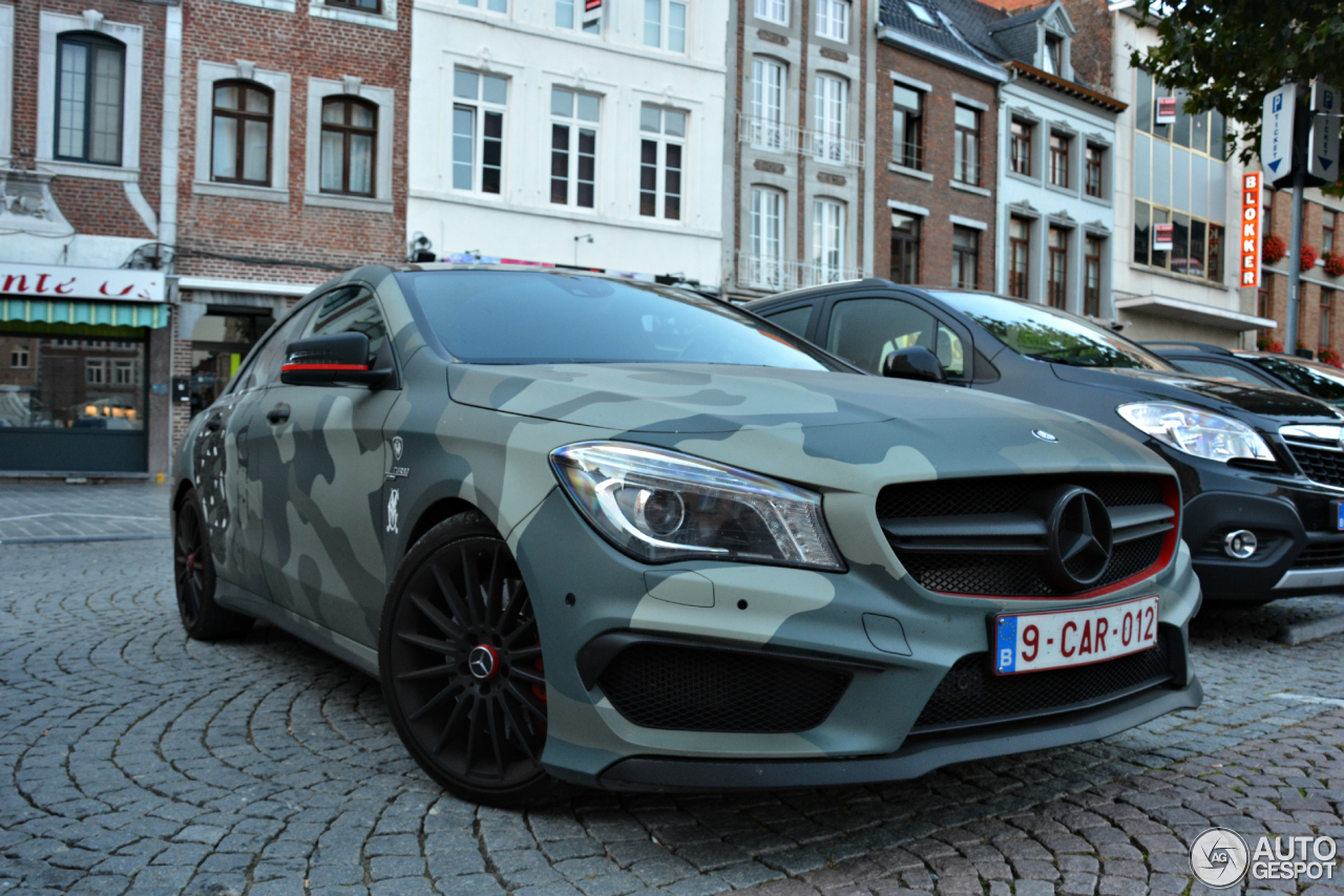 mercedes benz cla 45 amg edition 1 c117 5 octobre 2015 autogespot. Cars Review. Best American Auto & Cars Review