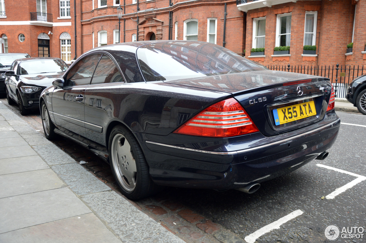 Mercedes benz cl 55 amg c215 6 october 2015 autogespot for 2015 mercedes benz cl