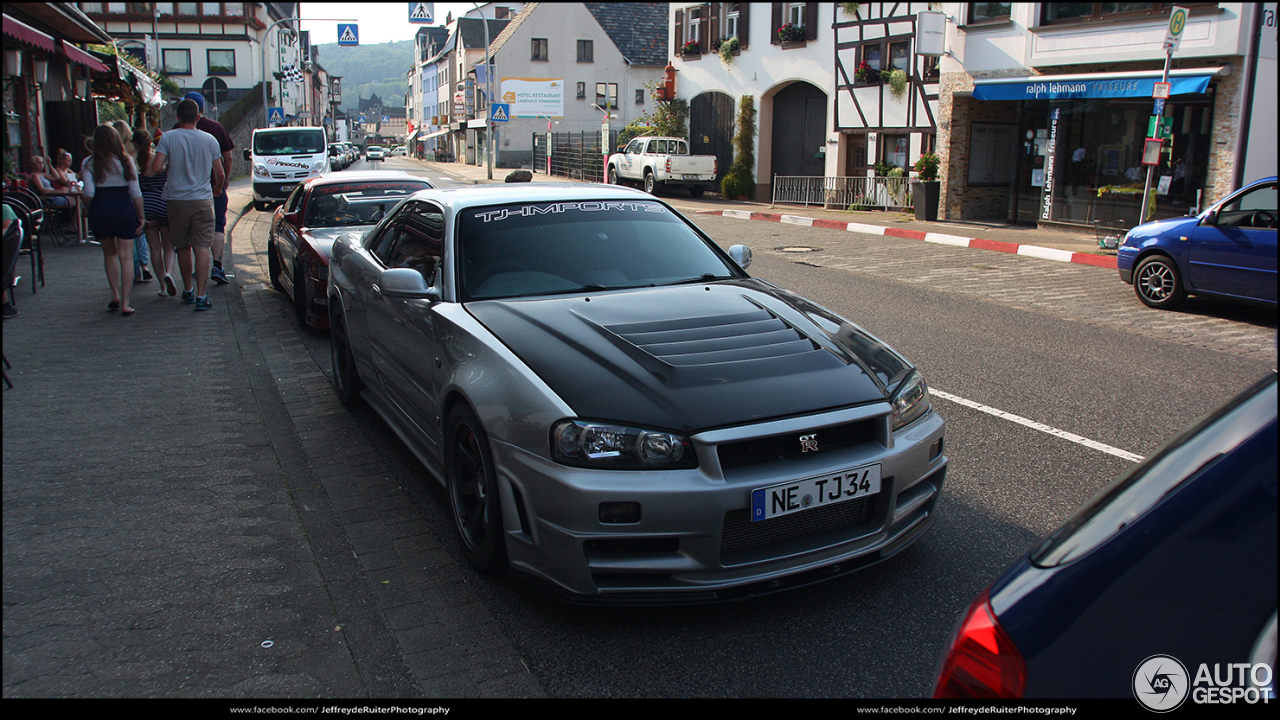 Nissan Skyline R34 Gt R Nismo Z Tune 6 October 2015