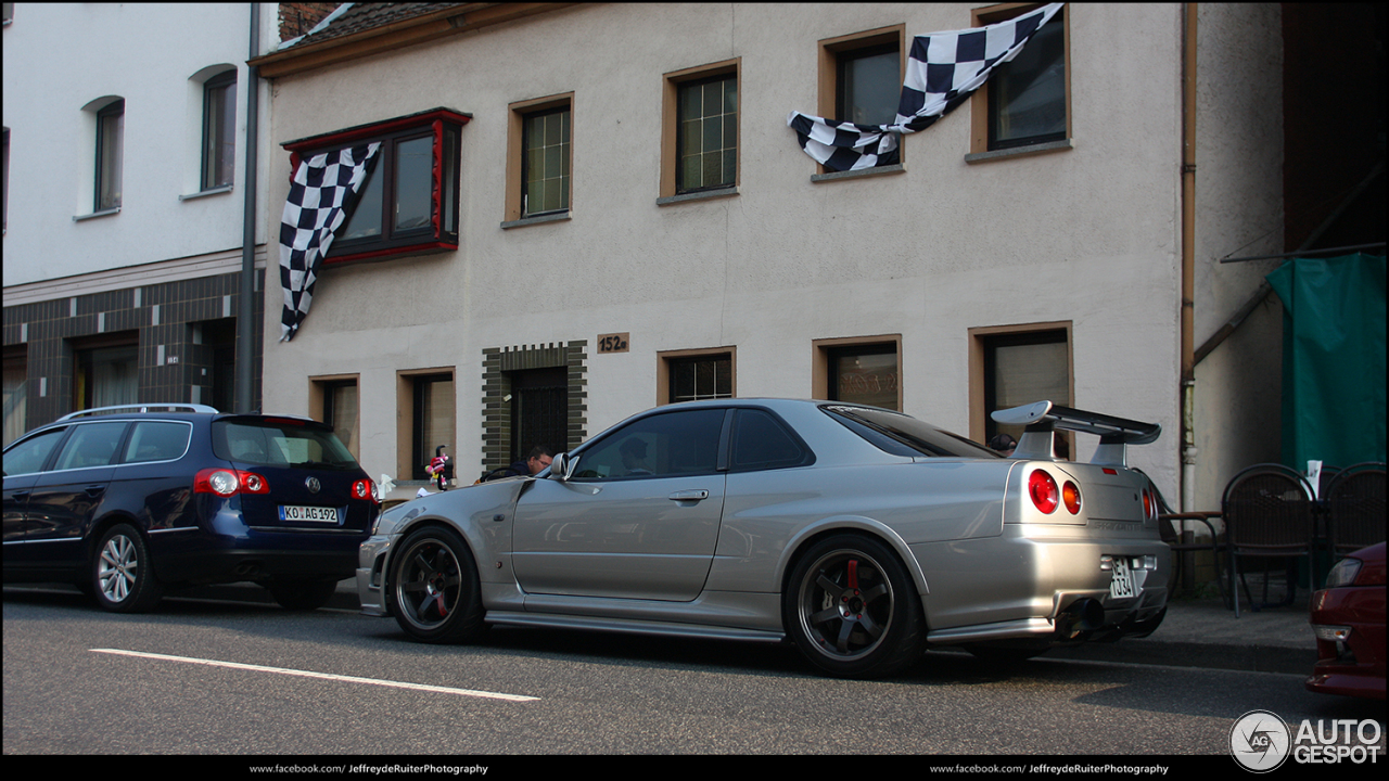 Nissan Skyline R34 Gt R Nismo Z Tune 6 October 2015