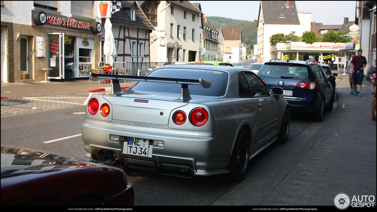 nissan skyline r34 gt r nismo z tune 6 oktober 2015 autogespot. Black Bedroom Furniture Sets. Home Design Ideas