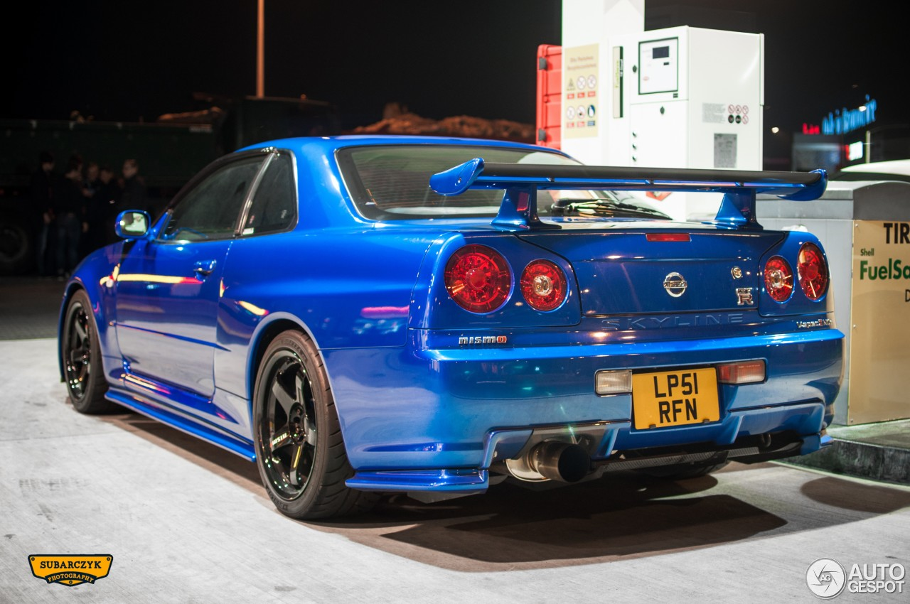 nissan skyline r34 gt r v spec ii n r 9 october 2015 autogespot. Black Bedroom Furniture Sets. Home Design Ideas