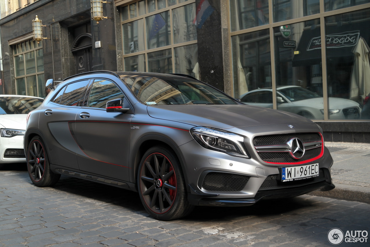 Mercedes benz gla 45 amg edition 1 10 october 2015 for Mercedes benz 2015 gla