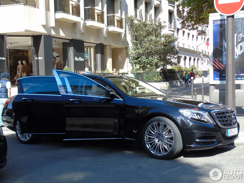 mercedes maybach s600 11 octobre 2015 autogespot. Black Bedroom Furniture Sets. Home Design Ideas