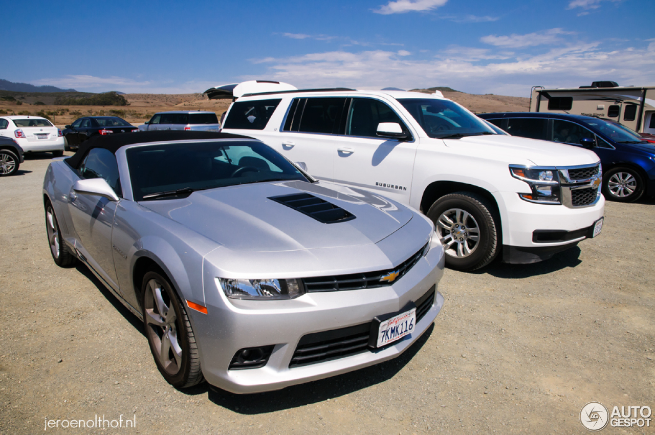Chevrolet Camaro Ss Convertible 2014 15 October 2015 Autogespot