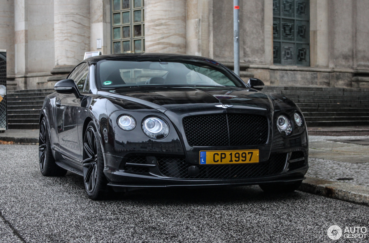 Bentley Continental Gt Speed 2015 16 October 2015