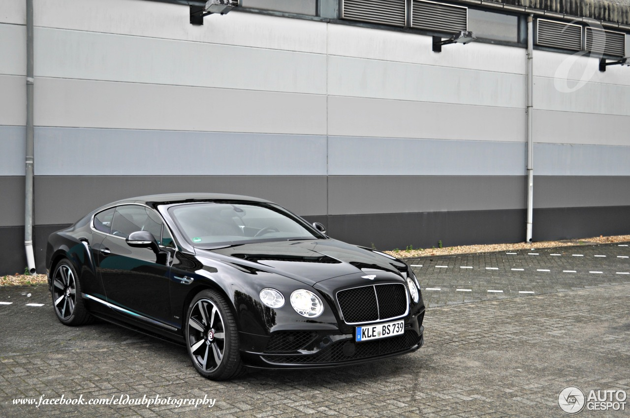 Bentley Continental Gt V8 S 2016 17 October 2015