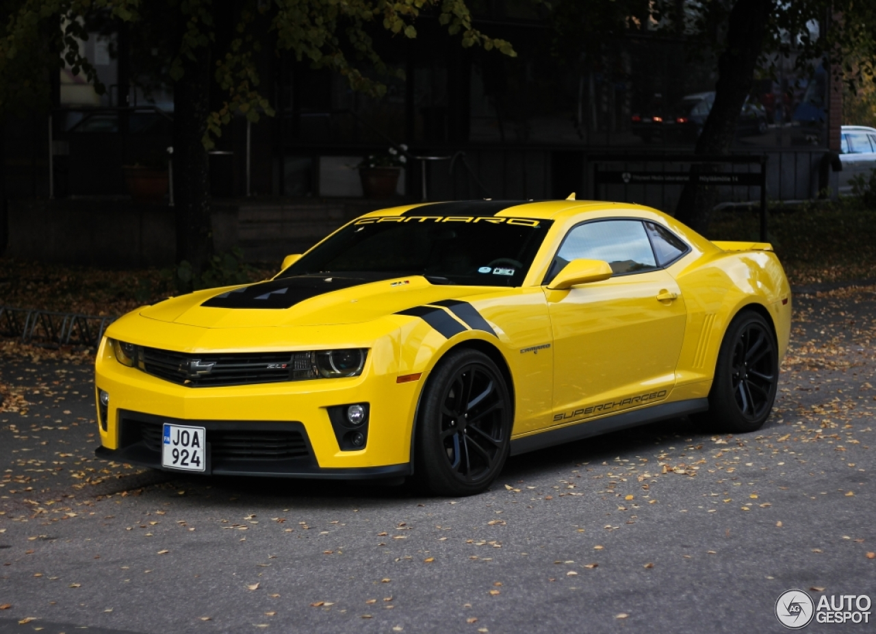 Chevrolet Camaro ZL1 - 18 October 2015 - Autogespot