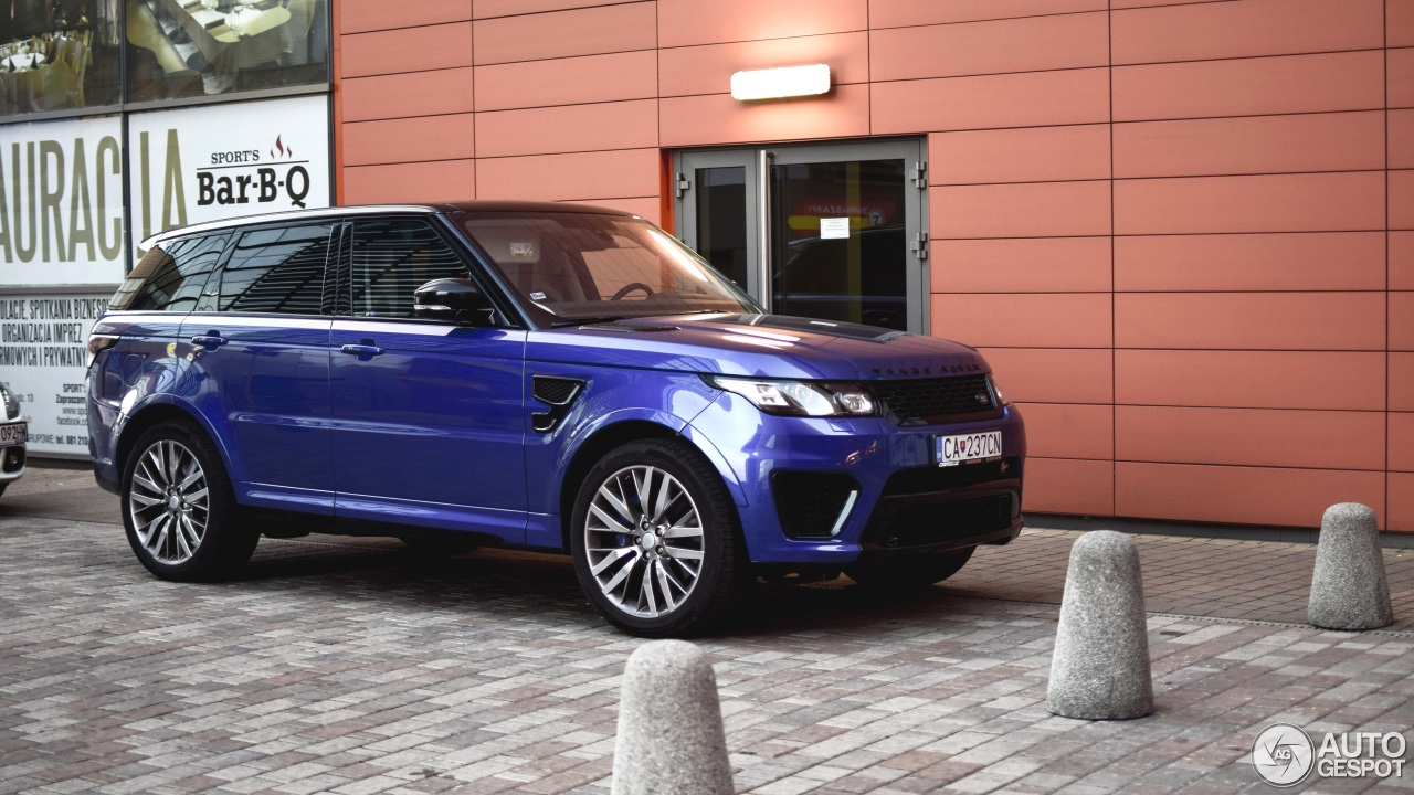 land rover range rover sport svr 19 october 2015 autogespot. Black Bedroom Furniture Sets. Home Design Ideas
