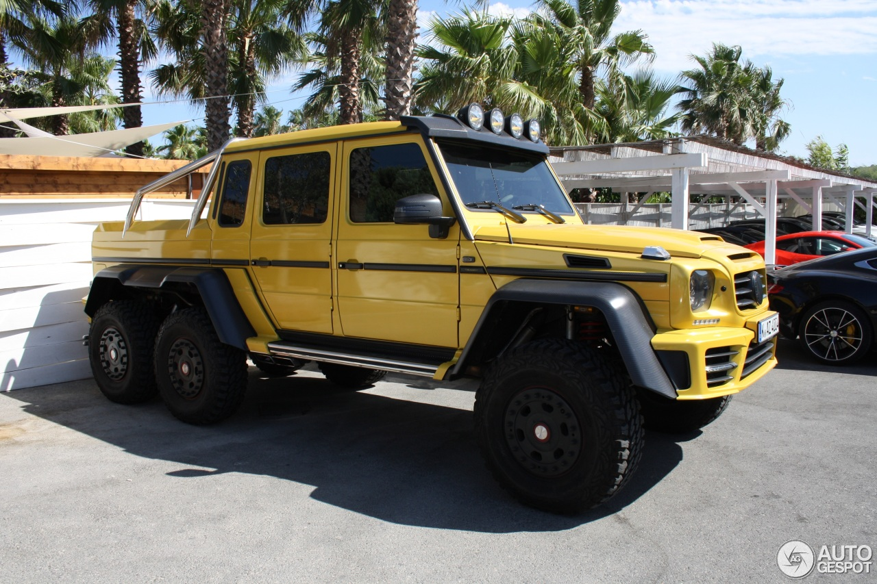 Mercedes benz mansory gronos g 63 amg 6x6 21 october for Mercedes benz amg 6x6 price