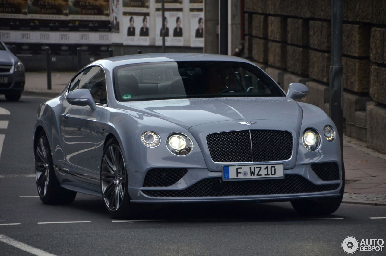bentley continental gt speed 2016 22 octubre 2015 autogespot. Black Bedroom Furniture Sets. Home Design Ideas