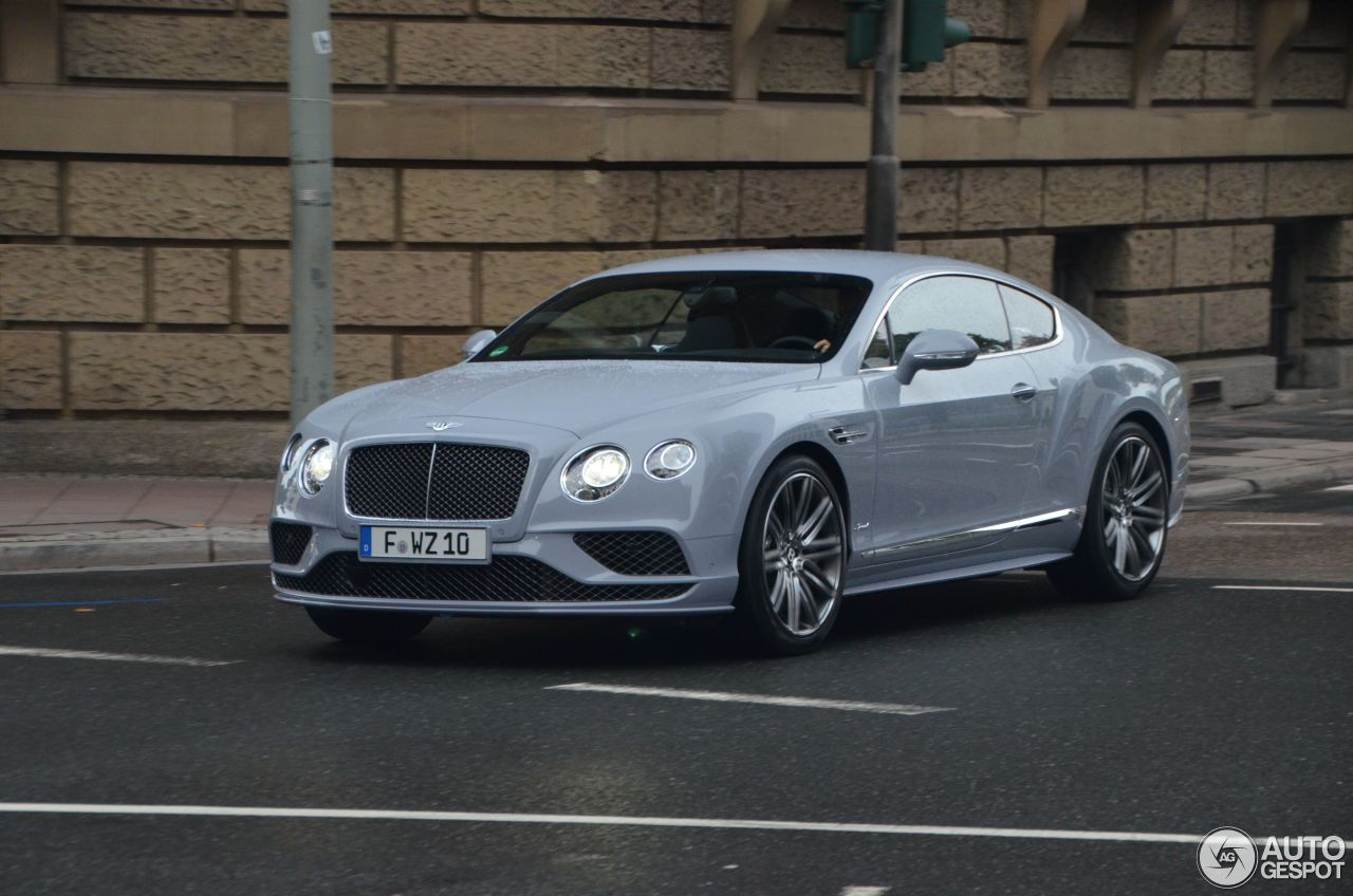 bentley continental gt speed 2016 22 october 2015 autogespot. Cars Review. Best American Auto & Cars Review