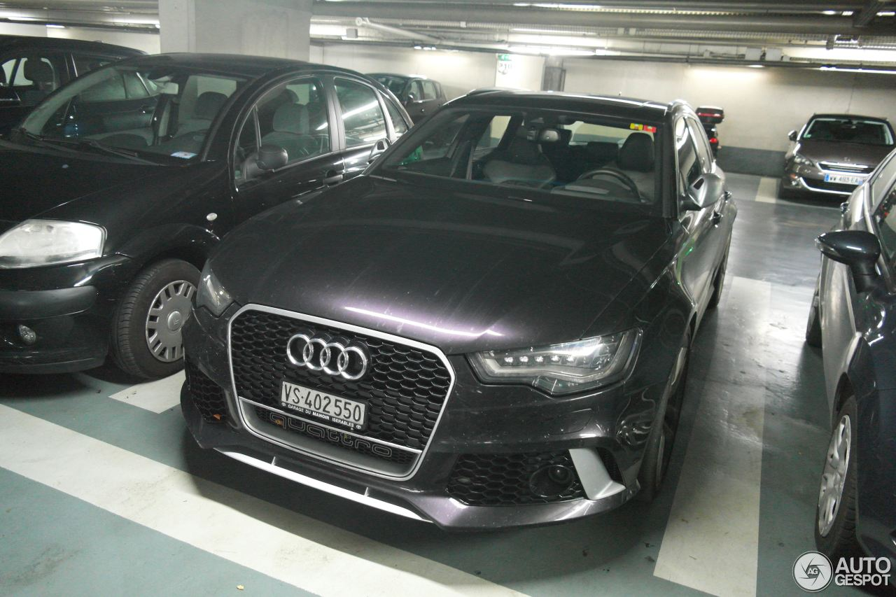 audi rs6 avant c7 25 octobre 2015 autogespot. Black Bedroom Furniture Sets. Home Design Ideas
