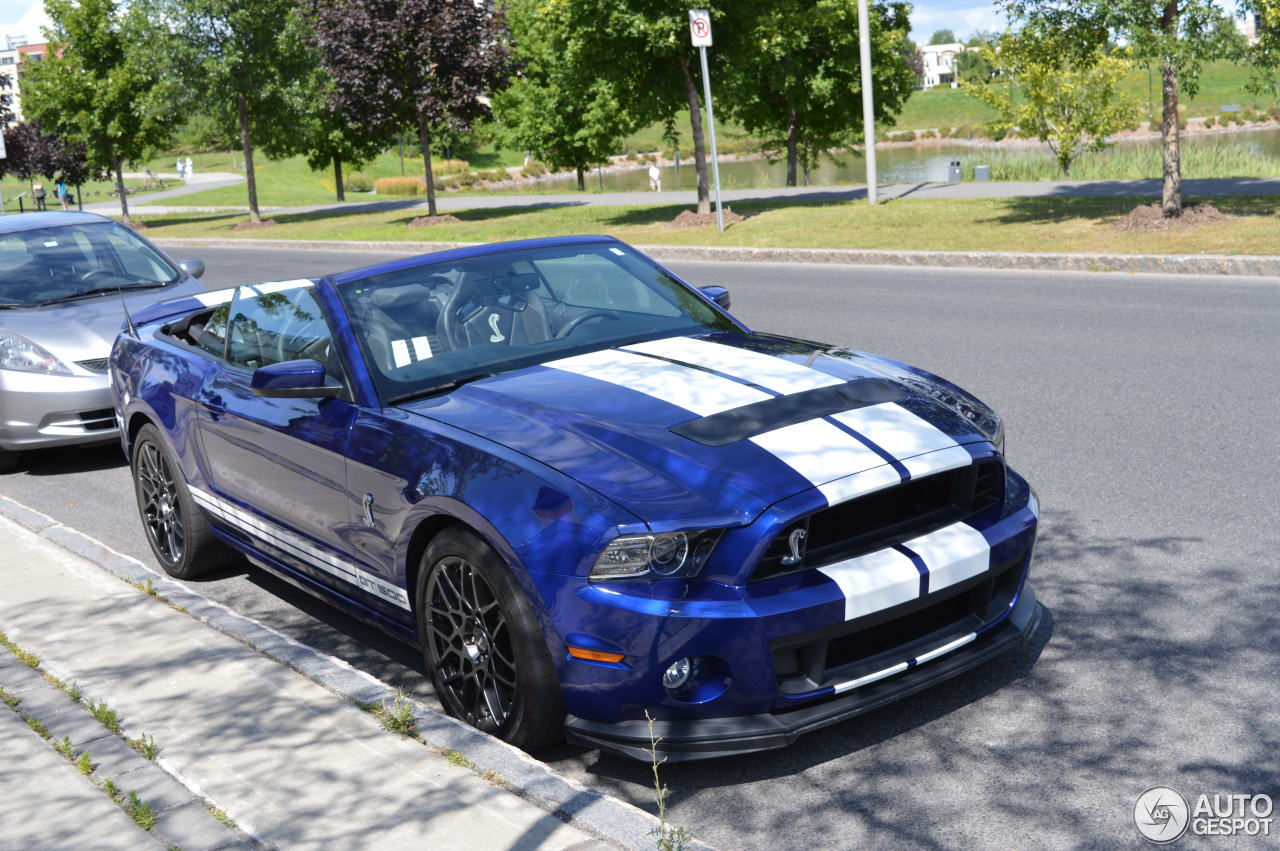 ford mustang shelby gt500 convertible 2014 26 october 2015 autogespot