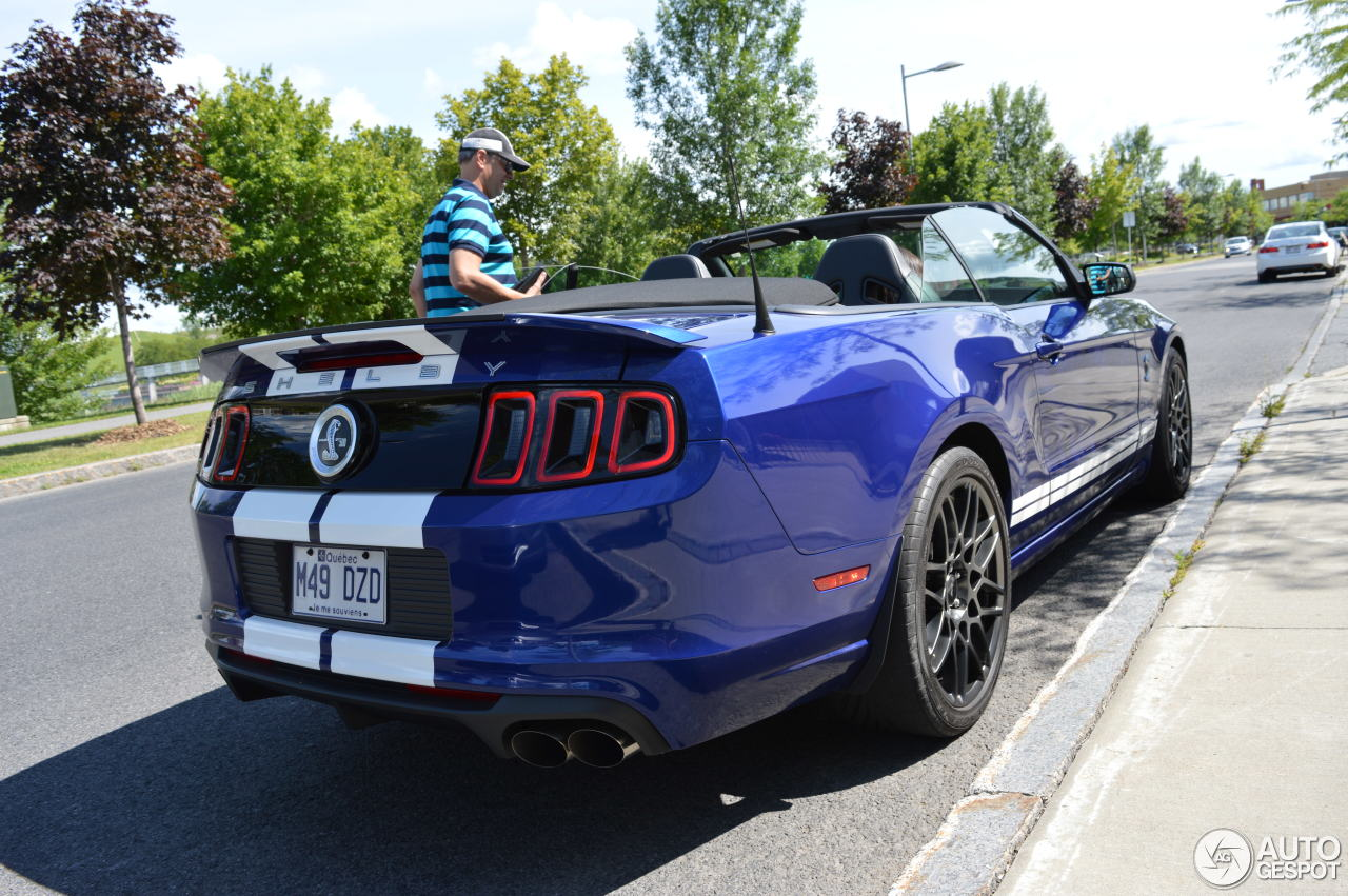 ford mustang shelby gt500 convertible 2014 26 october 2015 autogespot. Black Bedroom Furniture Sets. Home Design Ideas
