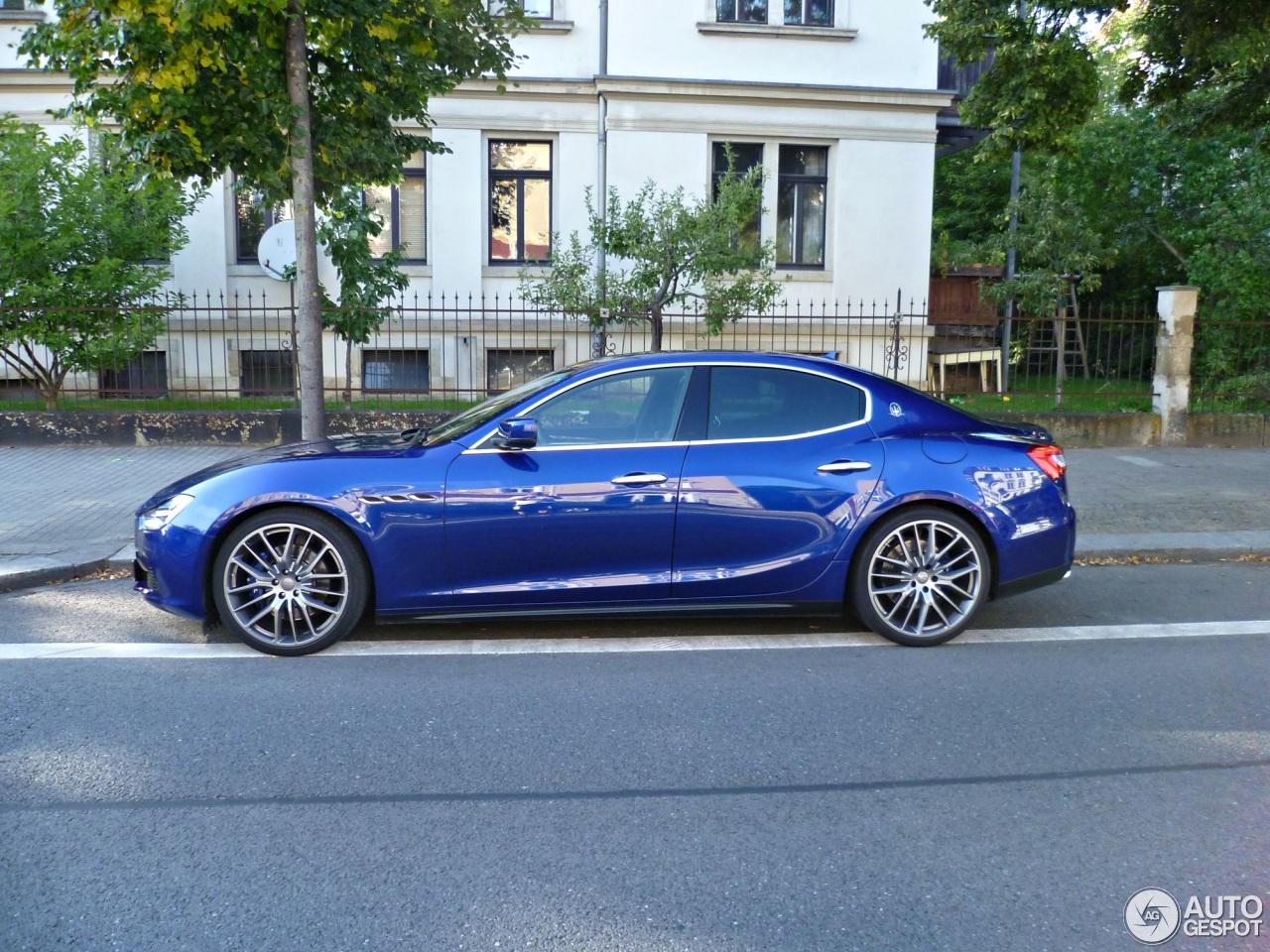 Maserati Ghibli 2013 26 Oktober 2015 Autogespot
