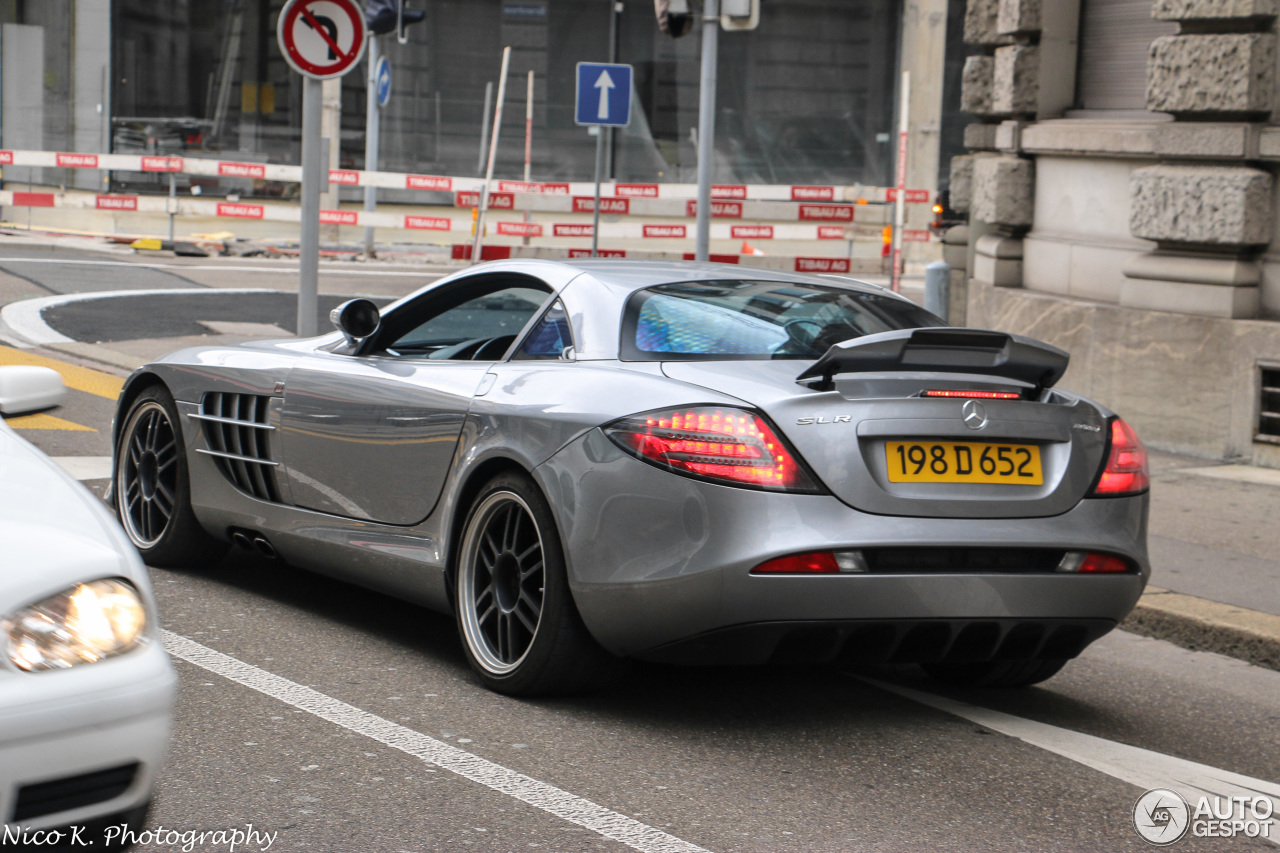 Mercedes Benz Slr Mclaren 722 Edition 26 October 2015