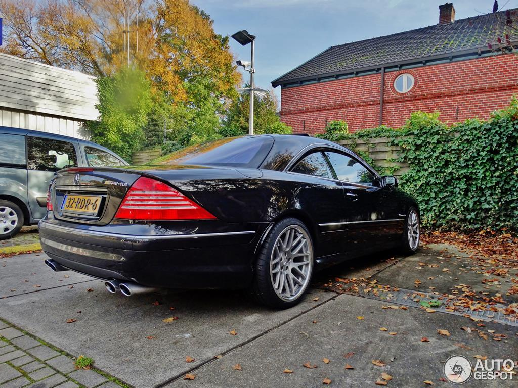 Mercedes Benz Cl 55 Amg C215 Kompressor 27 Octobre 2015