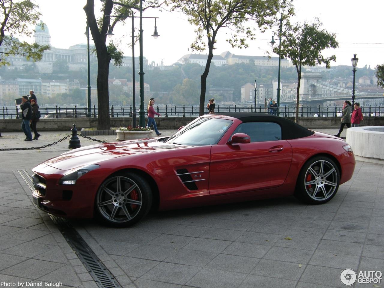 Mercedes benz sls amg roadster 27 oktober 2015 autogespot for 2015 mercedes benz sls amg convertible