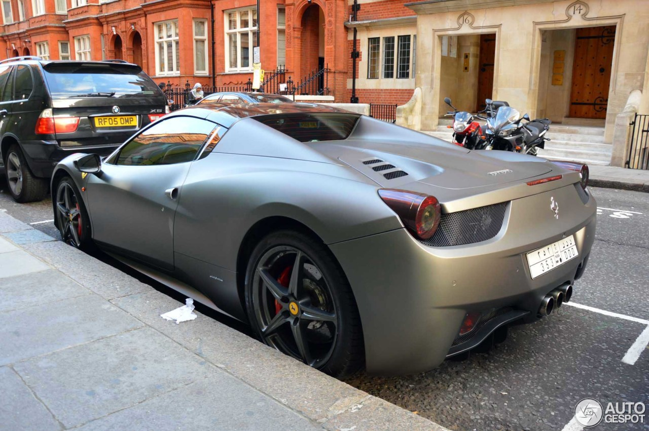 ferrari 458 spider 31 october 2015 autogespot. Black Bedroom Furniture Sets. Home Design Ideas