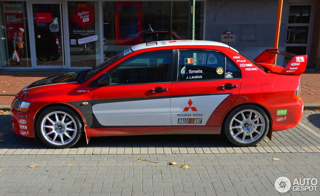 Mitsubishi Lancer Evolution Ix Ralliart 31 October 2015