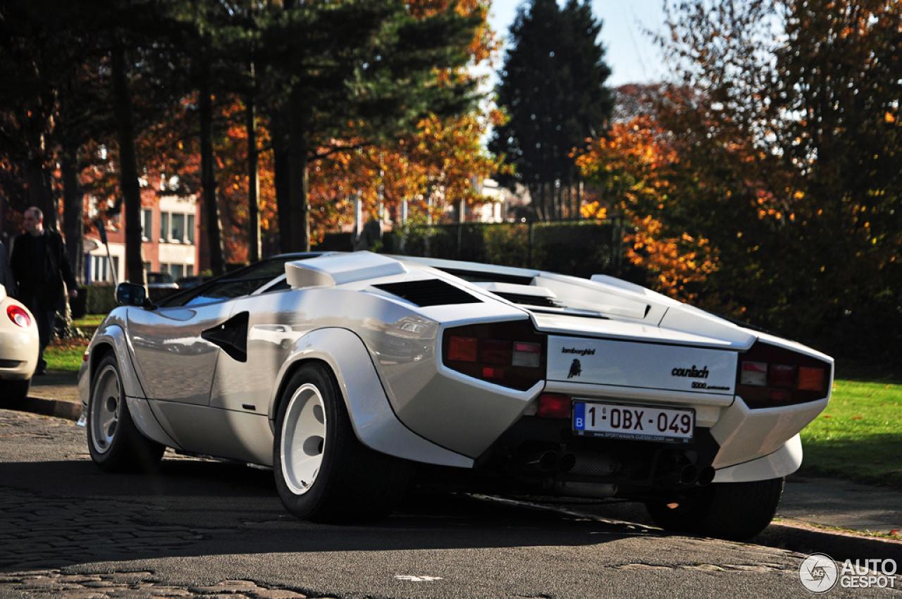 Lamborghini Countach 5000 Quattrovalvole 1 November 2015